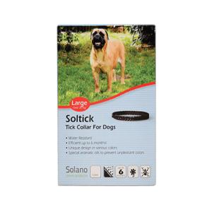 """קולר סולטיק לכלב גדול מעל 20 ק""""ג-0"""
