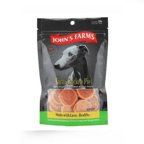 חטיף ג'ונס פארם פאי עוף 100 גרם-0