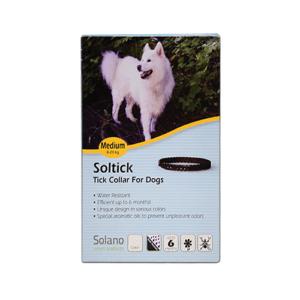 """קולר סולטיק לכלב בינוני 8-20 ק""""ג -0"""