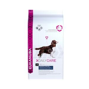 """מזון לכלבים יוקנובה דיילי קר לבעיות משקל 12 ק""""ג-0"""