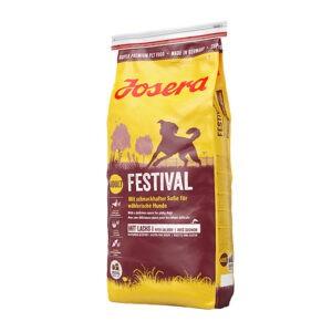 """מזון לכלבים ג'וסרה פסטיבל 15 ק""""ג-0"""