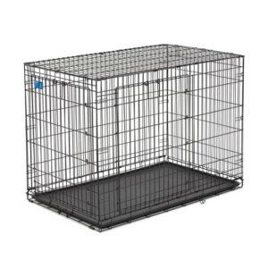 """כלוב אילוף לכלב באורך 122 ס""""מ שתי דלתות-0"""