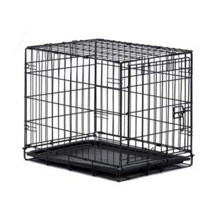 """כלוב אילוף לכלב באורך 46 ס""""מ דלת אחת-0"""