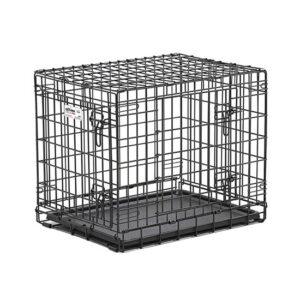 """כלוב אילוף לכלב באורך 61 ס""""מ שתי דלתות-0"""