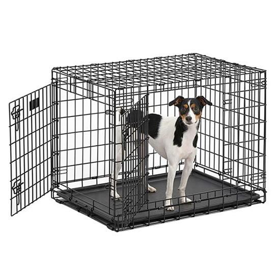 """כלוב אילוף לכלב באורך 76 ס""""מ שתי דלתות-3151"""