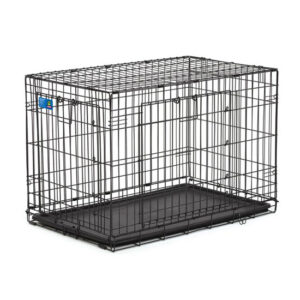 """כלוב אילוף לכלב באורך 91 ס""""מ שתי דלתות-0"""