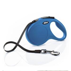 רצועה לכלב פלקסי קלאסיק M צבע כחול-0