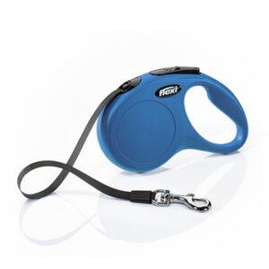 רצועה לכלב פלקסי קלאסיק S צבע כחול-0