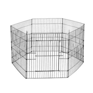 """גדר תיחום לכלב 8 צלעות בגובה 107 ס""""מ-0"""