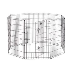 """גדר תיחום לכלב 8 צלעות בגובה 91 ס""""מ-0"""