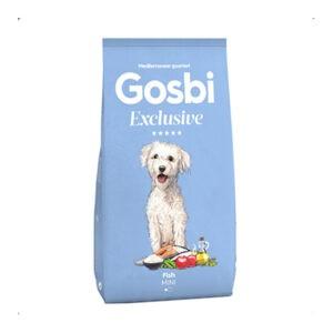 """מזון לכלבים גוסבי בוגר דגים מיני 7 ק""""ג-0"""