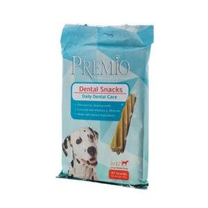 חטיף דנטלי פרמיו לכלב גדול 270 גרם-0