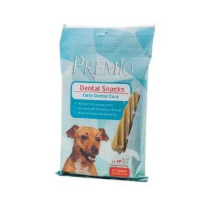 חטיף דנטלי פרמיו לכלב בינוני 180 גרם-0