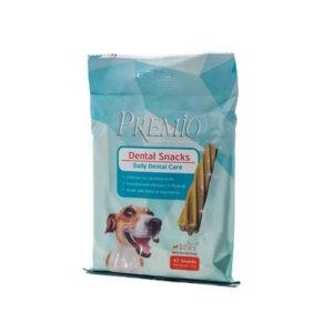 חטיף דנטלי פרמיו לכלב קטן 110 גרם-0
