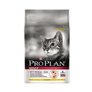 """מזון לחתולים פרו פלאן - בוגר עוף 3 ק""""ג-0"""