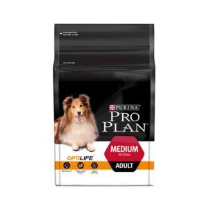 """מזון לכלבים פרו פלאן בוגר גזע בינוני 14 ק""""ג-0"""