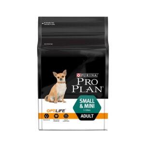 """מזון לכלבים פרו פלאן בוגר גזע קטן 3 ק""""ג-0"""