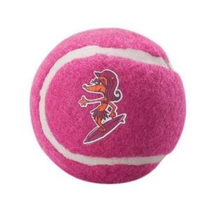 צעצוע לכלב רוגז כדור טניס גדול צבע ורוד-0