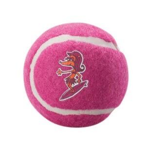 צעצוע לכלב רוגז כדור טניס בינוני צבע ורוד-0