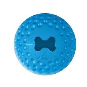 צעצוע לכלב רוגז כדור גומי לעיסה בינוני צבע כחול-0