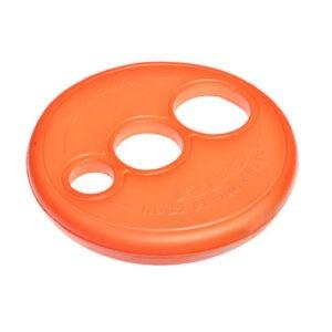 צעצוע לכלב רוגז צלחת מעופפת צבע כתום-0