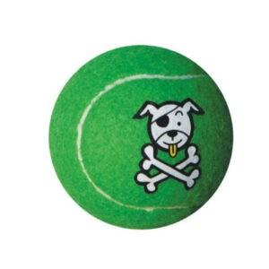 צעצוע לכלב רוגז כדור טניס קטן צבע ירוק ליים-0