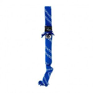 צעצוע לכלב רוגז חבל דנטלי גדול צבע כחול -0