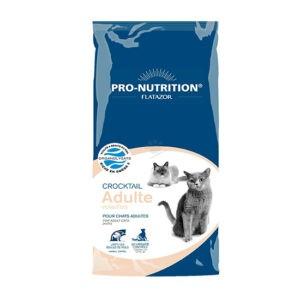 """מזון חתולים פלטזור קרוקטל אדולט 12 ק""""ג-0"""