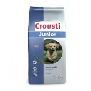 """מזון כלבים קרוסטי ג'וניור 12 ק""""ג-0"""