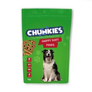 חטיף צ'אנקיס לכלב הפי סופט פאוז 80 גרם-0