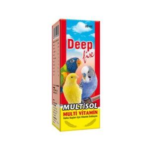 """ויטמינים לציפורים דיפ - ויטמין מולטיסול 30 מ""""ל-0"""