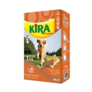 בסקוויטים לכלב קירה טריס 500 גרם -0