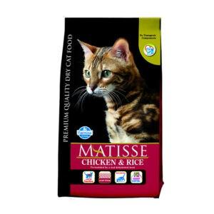 """מזון לחתולים מאטיס - בוגר עוף ואורז 10 ק""""ג-0"""