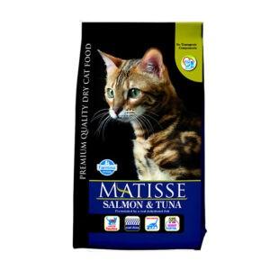 """מזון לחתולים מאטיס - בוגר סלמון וטונה 1.5 ק""""ג-0"""