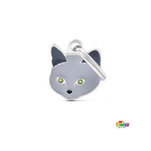 תג שם לפי גזע חתול - שארטרו-0