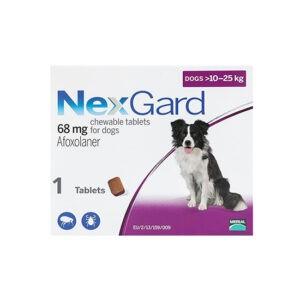 """נקס גארד כדור נגד פרעושים וקרציות לכלב בינוני 10-25 ק""""ג - לא למכירה-0"""