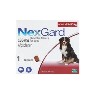 """נקס גארד כדור נגד פרעושים וקרציות לכלב גדול 25-50 ק""""ג - לא למכירה-0"""