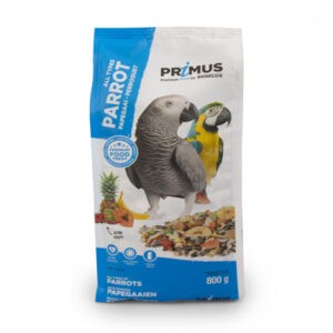 תערובת מזון לתוכי גדול פרימוס 800 גרם-0