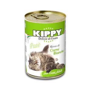 שימורי קיפי לחתול - פטה עוף וארנב 400 גרם-0