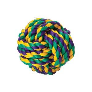 צעצוע חבל לכלב - כדור גדול-0