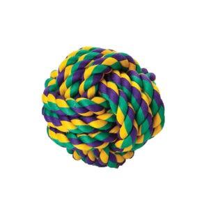 צעצוע חבל לכלב - כדור בינוני-0