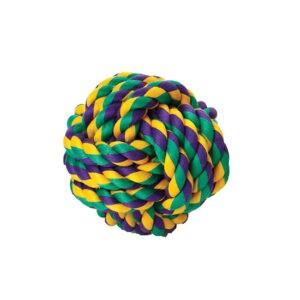 צעצוע חבל לכלב - כדור קטן-0