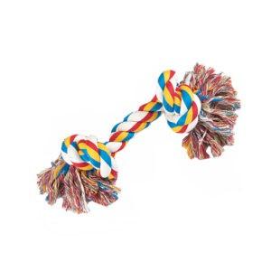 צעצוע חבל לכלב 2 קשרים-0