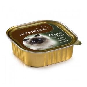 מעדן לחתול אתנה פטה קוקטיל בטעם עוף בקר ועגבניות 100 גרם-0