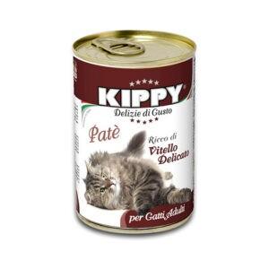 שימורי קיפי לחתול - פטה עגל 400 גרם-0