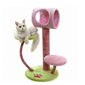 מתקן גירוד לחתולים ארץ הפלאות-0