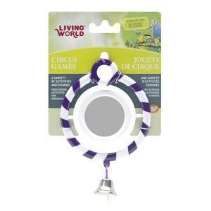 ליווינג וורלד צעצוע לתוכי - צעצוע קרקס עגול עם מראה-0