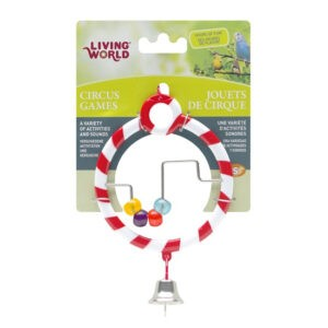ליווינג וורלד צעצוע לתוכי - צעצוע קרקס עגול עם חשבוניה-0