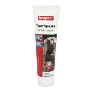 משחת שיניים לכלבים ביהפר בטעם כבד 100 גרם-0
