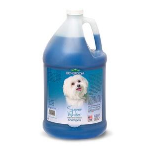 שמפו לכלב ביו גרום - גלון סופר וואיט 3.8 ליטר-0